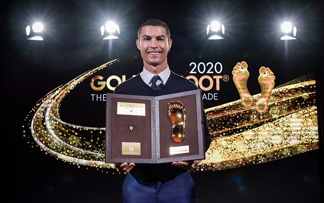 Cristiano Ronaldo Golden Foot